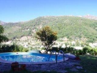 Casa com jardim e piscina em Manteigas no coração da Serra da Estrela