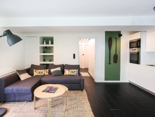 Superb design apartment at the foot of the beaches