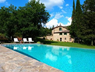 15th Century Mill Transformed Into  Beautiful Villa in Charming Italian Contest