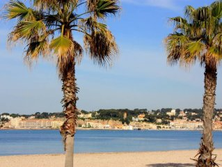 Studio 5 minutes walk from the beach in Six-Fours