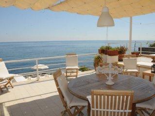 Sea front Villa in Mondello - Addaura nearby Palermo