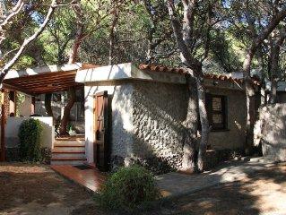 Casa a Porto Pino 30 mt dalla Spiaggia / Sconto 8% per chi prenota con bonifico
