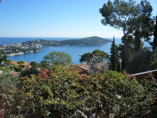 Stunning 1 bedroom apartment panoramic views Villefranche sur Mer South France