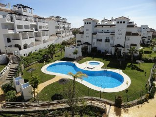 Family apartment close to the beach