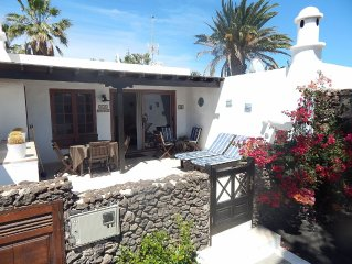 Casas del Sol air conditioned 2 bedroomed luxury villa in Playa Blanca