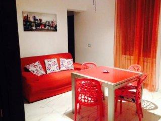 Vintimille: Tres bel appartement, WI-FI,  plage /mer a 30 metres calme tout conf