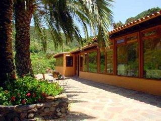 Casa rural en La Gomera. Hasta 5 personas. Entorno Parque Garajonay. Wi-Fi