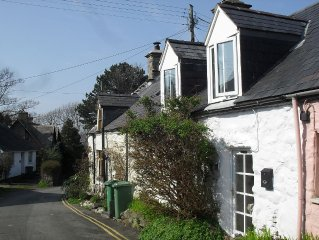 Situated in Heart Of Picturesque Snowdonian Village, 5 Mins Walk From The Beach