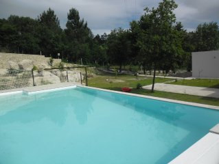 Luxurious country villa with private pool, garden and barbecue.