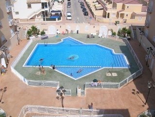 Large 2 Bedroom Apartment in San Pedro 10 min from the Mar Menor beaches