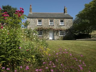 Rural Cottage Idyll With Stunning Views In The Hills Below Port Isaac