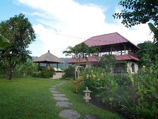 Open stylish villa by the beach in Lovina, North Bali