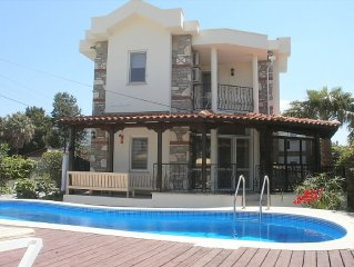 Beautiful 3 Bedroom Villa With Private Pool In Dalyan Turkey
