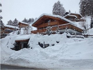 Swiss Luxury Chalet. Spacious. Ideal For Families And With Spectacular Views