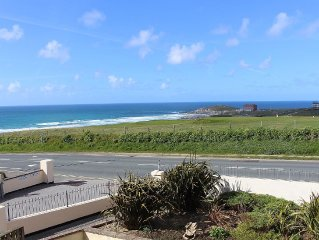 Luxury Spacious Apartment With Sea Views, Fistral Beach, Newquay, Cornwall
