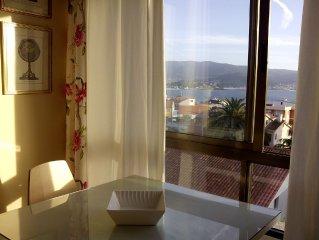 Vistas al mar y Playa América, garaje, paisajes, gastronomía, ocio,