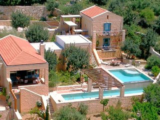 Ariadne - Luxury Villa - 2 Private Pools - Maid S