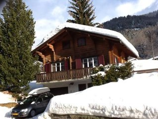 Charming Chalet in Authentic Village with Large Terrace and Stunning Views