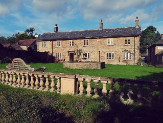 Relaxing Get Away in Somerset with Private Pool, Acres of Garden, idyllic in Su