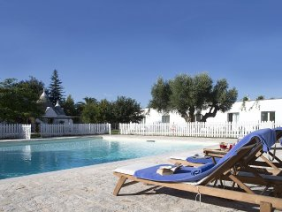 Stunning Trullo And Villa With Fenced Pool