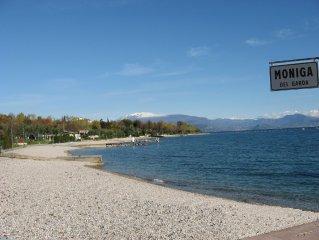 Villetta con piscina a mt.400 dal lago con due camere 2 - 6 Posti Letto