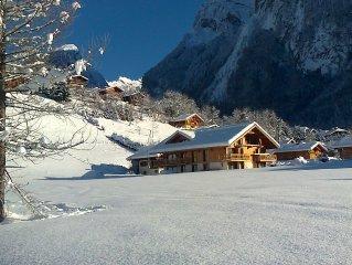 Chalet Apartment In Central Samoens, Grand Massif Ski Area, Haute Savoie, France