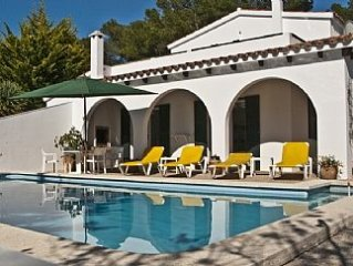 Large, Family Villa With Private Pool, Son Parc, Menorca