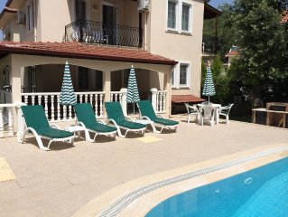 Villa With Private Pool, Terrace, Garden and Covered Games Area.
