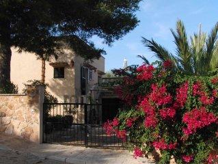 Vrijstaand huis in de nabijheid van een van de mooiste baaien op Mallorca