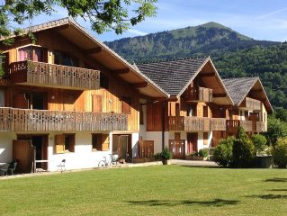 Pas au Loup is in one of the most sought after areas of Samoens.