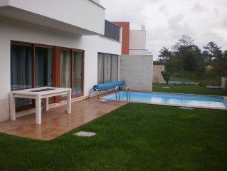 Modern villa - Obidos lagoon and Bom Sucesso Beach