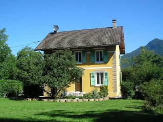 Character property close to Lake Annecy set amidst stunning mountain scenery.