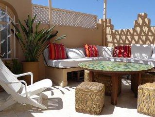 Riad de Charme dans la Médina d'Essaouira, ménage, internet  inclus dans le prix