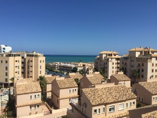 3 Bed Penthouse With Sea Views And Shared Pool L43 per night out of season