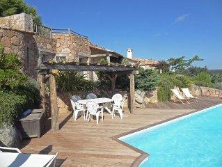 Sant Amanza Bonifacio: luxueuse maison d'architecte