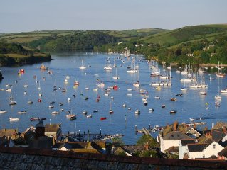 Enjoy one of the best views overlooking the Salcombe estuary