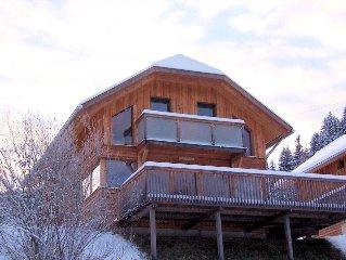 Luxury Ski and Summer Wooden Chalet in Kreischberg Murau Holiday Village