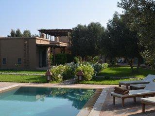 Tres belle villa avec magnifique jardin, ideale  entre amis ou en famille