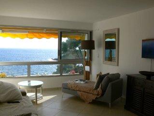 Vue panoramique mer, Air Conditionne, WIFI. Pour 2+2 pers , parking privatif