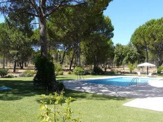 Ideal villa for family hollidays very quite countryside, Comporta beach nearby