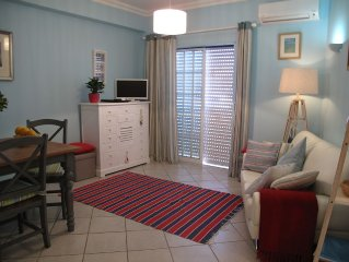 Stylish and comfortable apartment only a few metres from the sea with free wifi