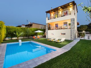 New family villa only 1km away from the beach and everything else you might need