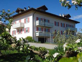 Italy-Trentino Altoadige-Val di Non-Brez-Holidayhouse Rosa: between  DOLOMITI