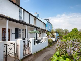 St. Christopher's Cottage | Sleeps 4, Dogs Welcome, Central Village Location