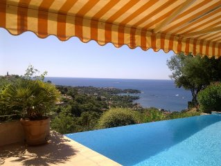Comfortable Sea View Villa With Private Pool In Agay