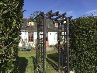 Plougasnou: Maison bretonne sur jardin sans vis a vis au Diben