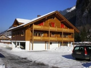 Self catering holiday apartment in the Swiss Alps