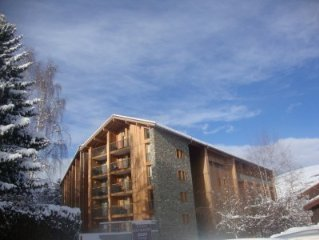 Exceptional 3 bed ski apartment in fantastic location.  Montchavin