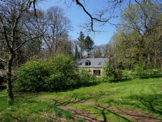 Traditional woodland Breton Cottage In Woodland, Featured On Grand Designs
