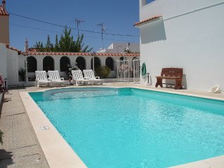 Lovely  5 bed villa in peaceful village with large private pool and views of sea
